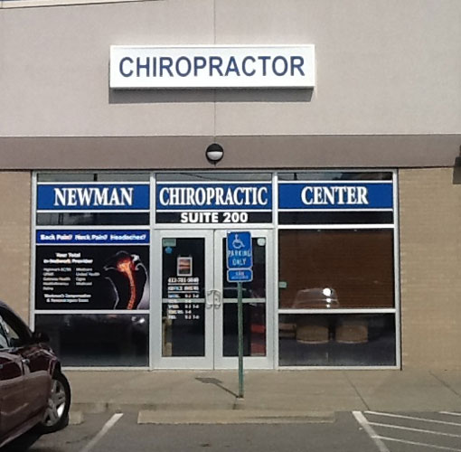 Chiropractic Pittsburgh PA Office Building